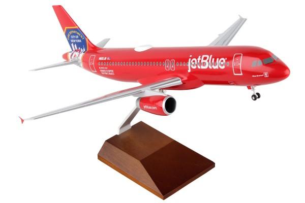 """Airbus A320 Jetblue Airways """"FDNY"""" N615JB Scale 1/100 w/Gear"""