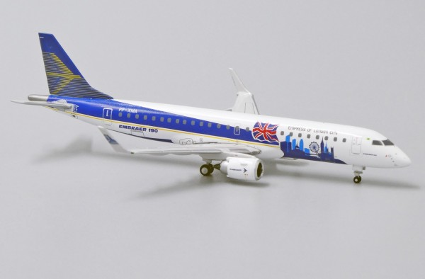 """Embraer 190-100STD """"Empress Of London City Livery"""" PP-XMA Scale 1/400"""