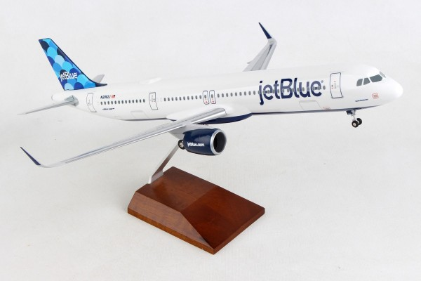 """Airbus A321neo JetBlue """"Balloons"""" Scale 1/100 w/Gear"""