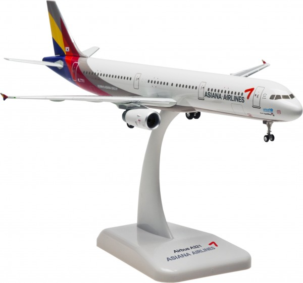 Airbus A321 Asiana Airlines Scale 1:200
