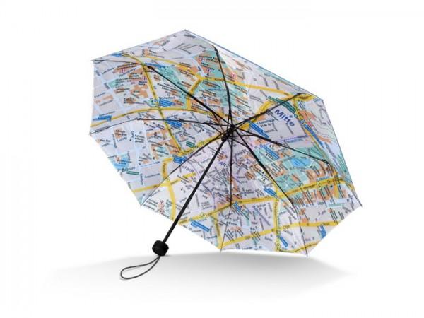 """Mini-Taschenschirm Stadtplan / Umbrella Rainmap City """"Stuttgart"""""""