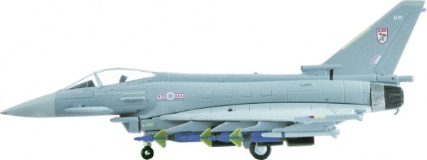 Eurofighter Typhoon F2 RAF Royal Air Force Coningsby Scale 1/200