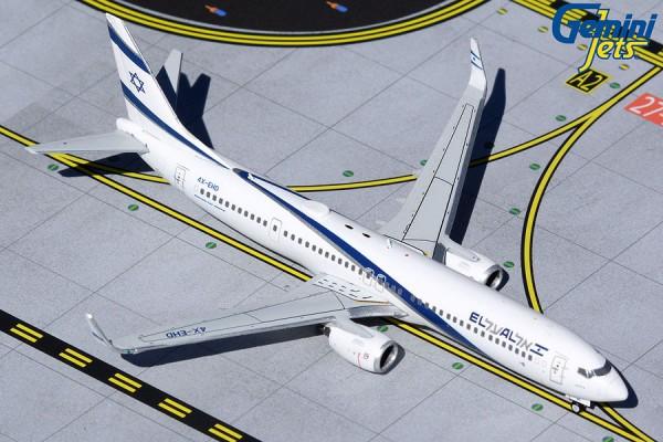 """Boeing 737-900ER El Al Israel Airlines """"Peace"""" 4X-EHD Scale 1/400"""