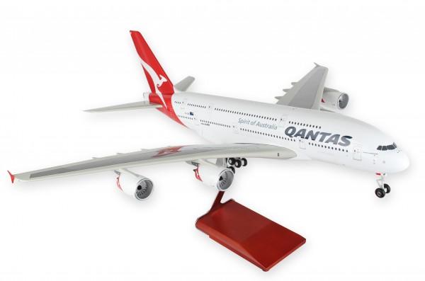 Airbus A380-800 Qantas VH-OQF Scale 1/100 w/Gear