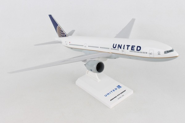 """Boeing 757-200 United Airlines """"Post Co Merger"""" Scale 1/200"""
