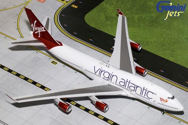 Boeing 747-400 Virgin Atlantic Airways Scale 1/200