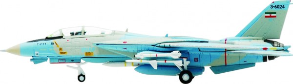 "Grumman F-14A Tomcat Iranian Air Force ""Ali-Cat"", Serial Number: 3-6024 Scale 1/200"