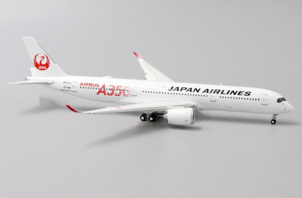 """Airbus A350-900XWB Japan Airlines """"JAL RED"""" Flaps Down Version JA01XJ Scale 1/400"""