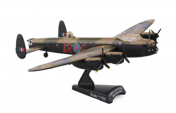 POSTAGE STAMP Avro 683 Lancaster RAAF G for George Scale 1/150
