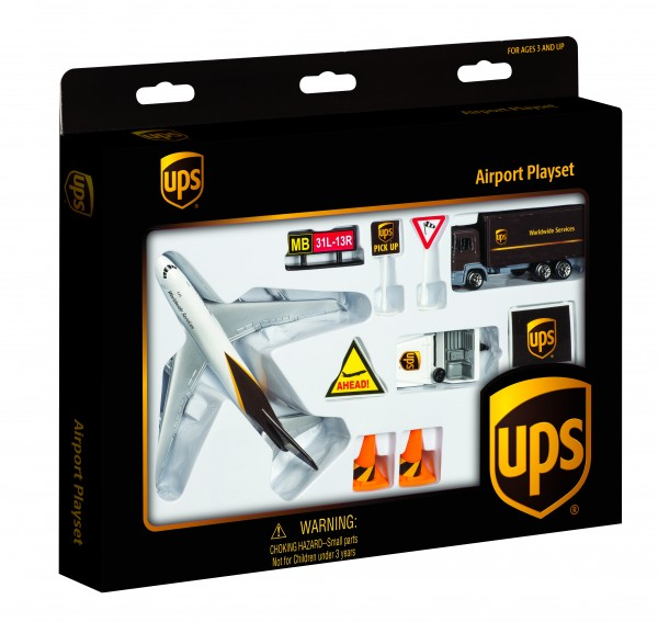 Airport Play Set United Parcel Service (UPS)