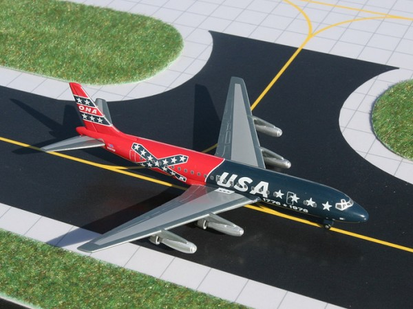 "Douglas DC-8-21 Overseas National Airways ""Confederate Livery"" Scale 1/400"