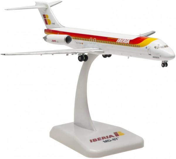 "McDonnell Douglas MD-87 Iberia ""Ciudad de Leon"" Scale 1:200 die cast"