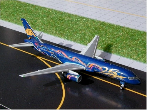 """Boeing 757-200 American Trans Air (ATA) """"25th Anniversary"""" Scale 1/400"""