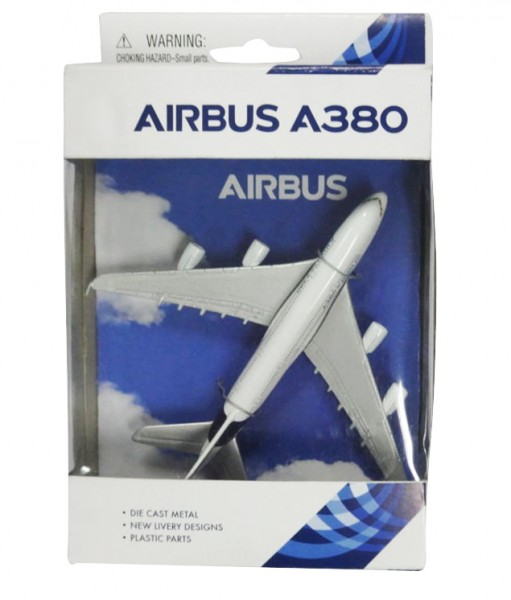Airbus A380 House Color Single Toyplane