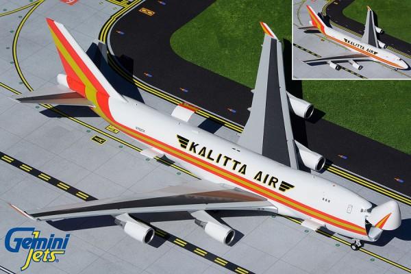 Boeing 747-400ERF Kalitta Air N782CK (Interactive Series) Scale 1/200