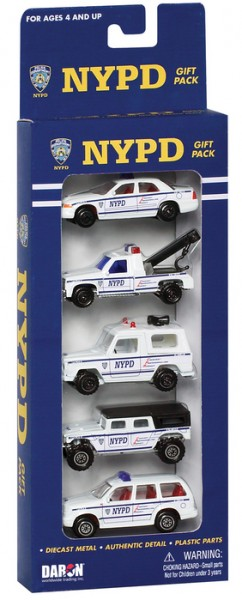 Police Department Play Set small 5pcs