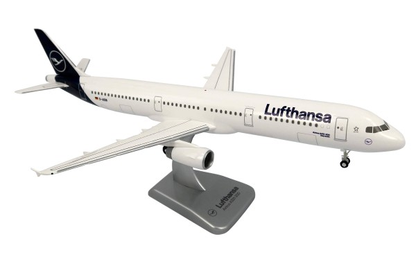 Airbus A321-200 Lufthansa New Livery Scale 1:200 w/G