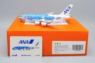 """Airbus A380-800 All Nippon Airways ANA """"Flying Honu - Lani Livery"""" JA381A Scale 1/400"""