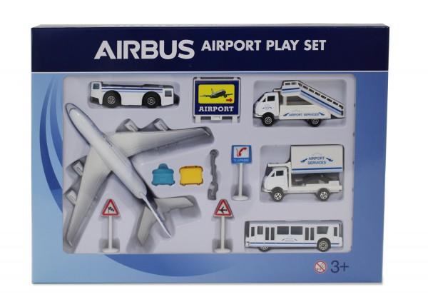 Airport Play Set Airbus House Color
