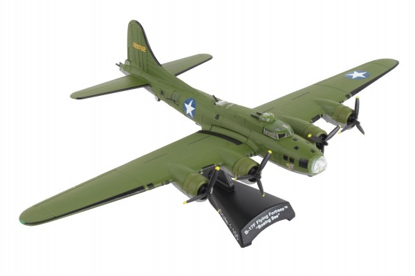 POSTAGE STAMP Boeing B-17F Flying Fortress Boeing Bee Scale 1/155