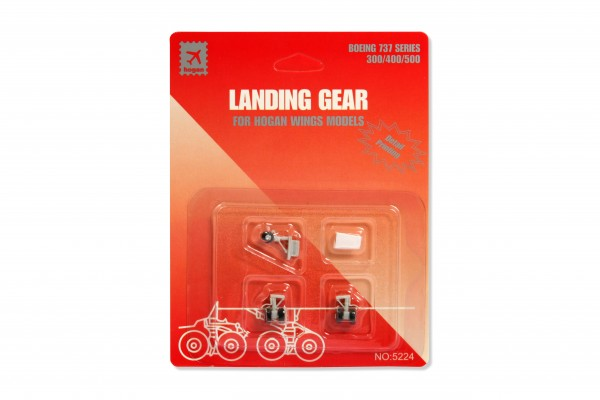Fahrwerk / Landing gear B737 Series for Hogan Wings Models