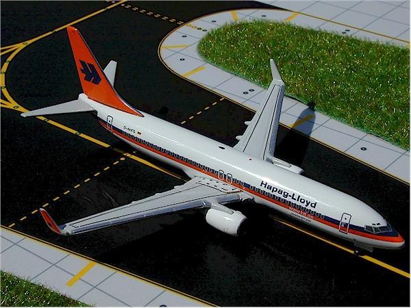Boeing 737-800(WG) Hapag-Lloyd D-AHFS Scale 1/400