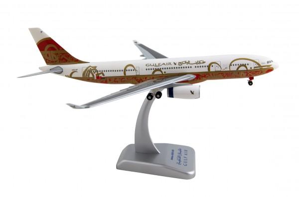 """Airbus A330-200 Gulf Air """"50TH ANNIVERSARY"""" Scale 1:200"""