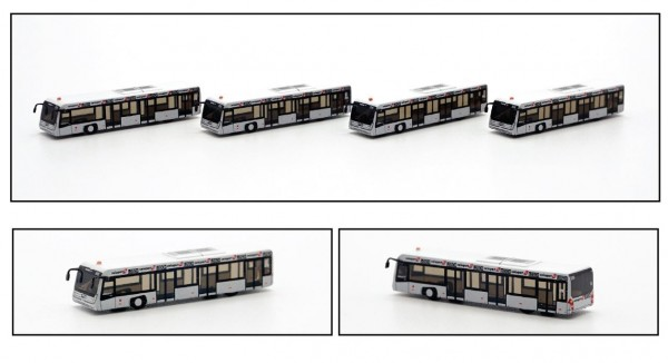 Airport Bus Swissport Scale 1/400