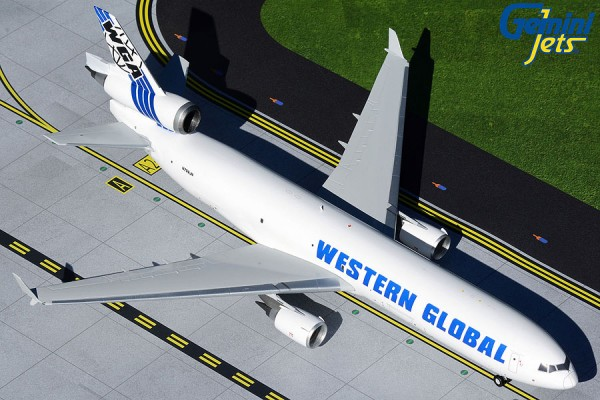 McDonnell Douglas MD-11F Western Global Airlines Scale 1/200