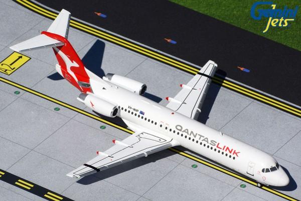 Fokker 100 QantasLink/Network Aviation VH-NHP Scale 1/200