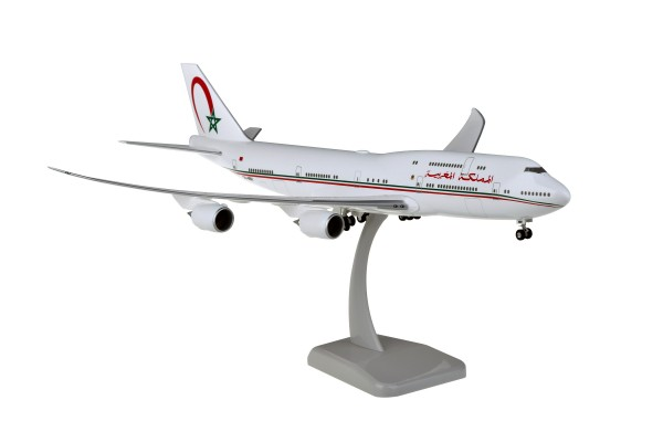 Boeing 747-8 Morocco Government CN-MBH Scale 1:200