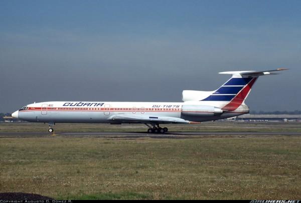 Tupolev TU-154M Cubana CU-T1275 Scale 1/200