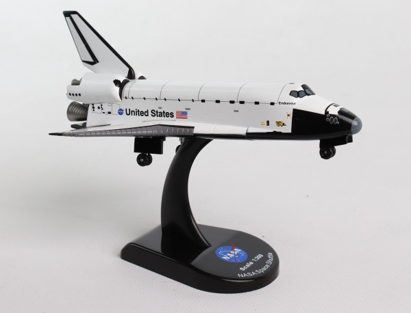 POSTAGE STAMP Space Shuttle Endeavour Scale 1/300