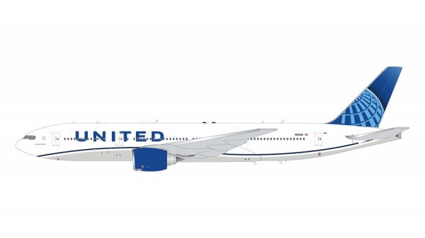 Boeing 777-200 United Airlines New Livery Scale 1/200