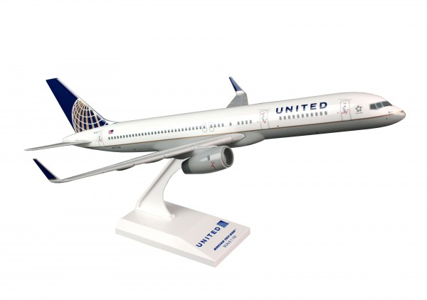 """Boeing 757-200ER United Airlines """"Post Co Merger Livery"""" N19130 Scale 1/150"""