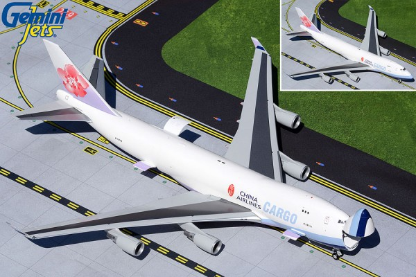 Boeing 747-400F China Airlines Cargo (Interactive Series) B-18710 Scale 1/200