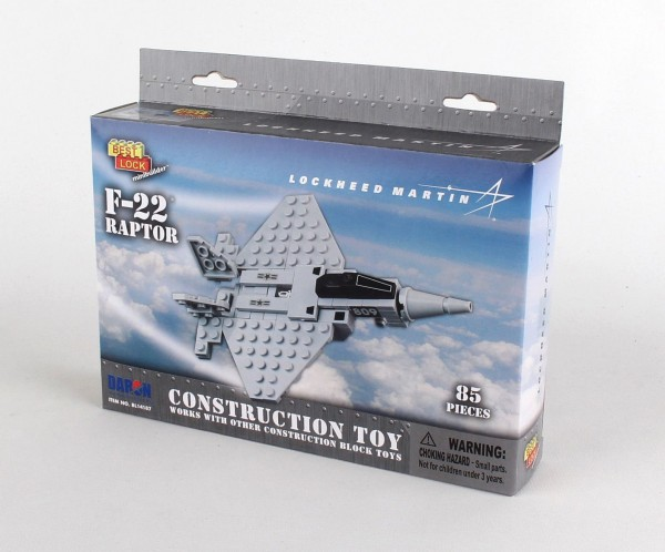 F-22 Raptor Construction Toy (85pcs)