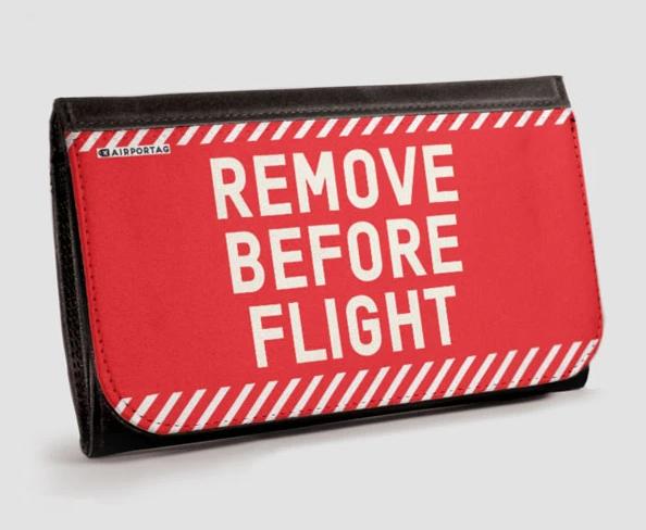 Wallet - Remove Before Flight