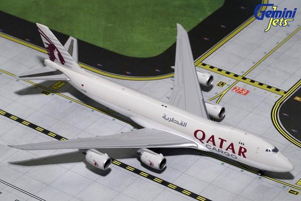 Boeing 747-8F Qatar Airways Cargo Scale 1/400
