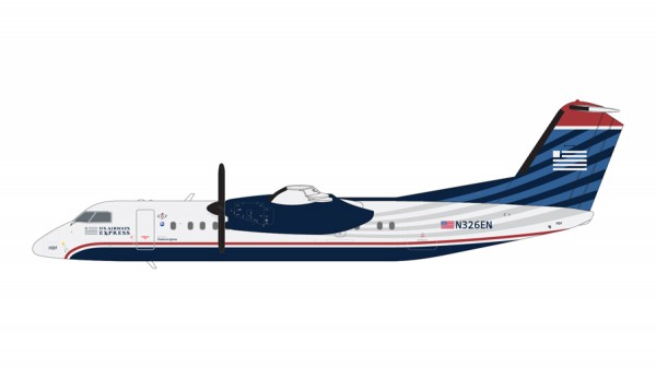 """Bombardier Dash 8-300 US Airways Express/Piedmont Airlines """"final livery"""" Scale 1/200"""