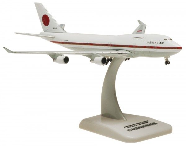 Boeing 747-400 Japan Air Self Defense (JASDF) 20-1101 Scale 1:500