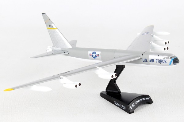 POSTAGE STAMP Boeing B-52 Stratofortress USAF Silver Scale 1/300