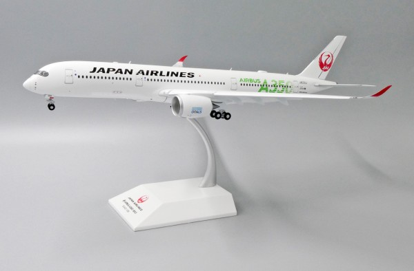 """Airbus A350-900XWB Japan Airlines """"JAL Green"""" Flaps Down Version JA03XJ Scale 1/200"""
