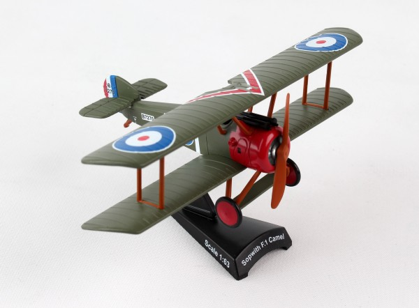 POSTAGE STAMP Sopwith F.I Camel Cpt. Arthur Roy Brown Scale 1/63