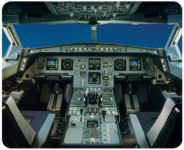 Airbus A340 Cockpit Mousepad