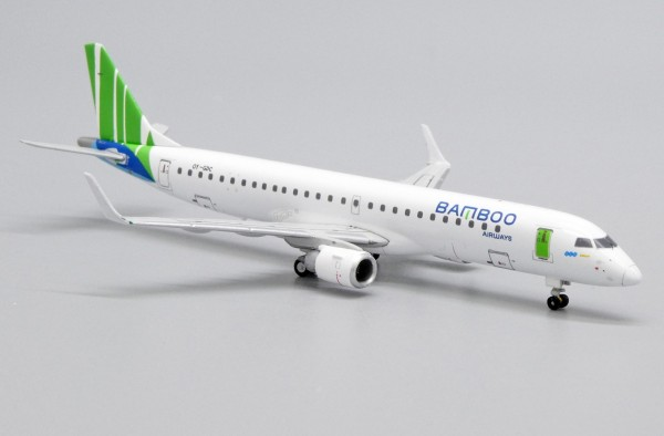 Embraer 190-200LR Bamboo Airways OY-GDC Scale 1/400