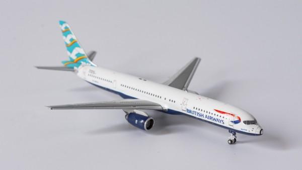 """Boeing 757-200 British Airways """"Blue Poole"""" G-BIKA Scale 1/400"""