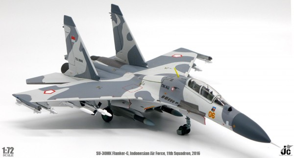 Sukhoi SU-30 MK Flanker-C Indonesian Air Force,11th Squadron,2016 Scale 1/72
