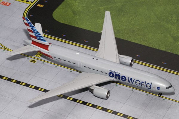 "Boeing 777-200ER American Airlines ""oneworld"" N796AN Scale 1/200"