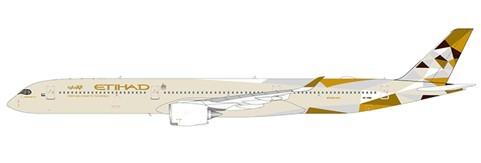 Airbus A350-1000 Etihad Airways Flaps Down Version A6-XWA Scale 1/400